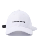 그루브라임() BUCKLE BALL CAP (WHITE) [GCA009G13WH]