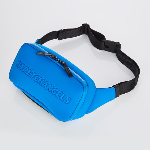 스트레치 엔젤스(STRETCH ANGELS) [N.E.O] Round SQ belt bag (Blue)