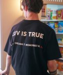 러브이즈트루(LUV IS TRUE) (UNISEX) RO TAPE TEE(BLACK)