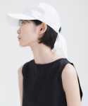 논로컬() Ribbon Ball Cap - White