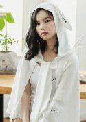 아빈(ARVVIN) rabbit summer shawl (white)