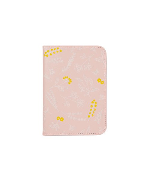 위크에이드(WEEKADE) BOTANICAL PASSPORT CASE_Pink garden