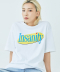 INSANITY TEE (White)