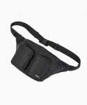 제너() TWO WAIST BAG -BLACK- (Z1TWOBK)