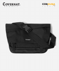 커버낫(COVERNAT) CORDURA MESSENGER BAG BLACK