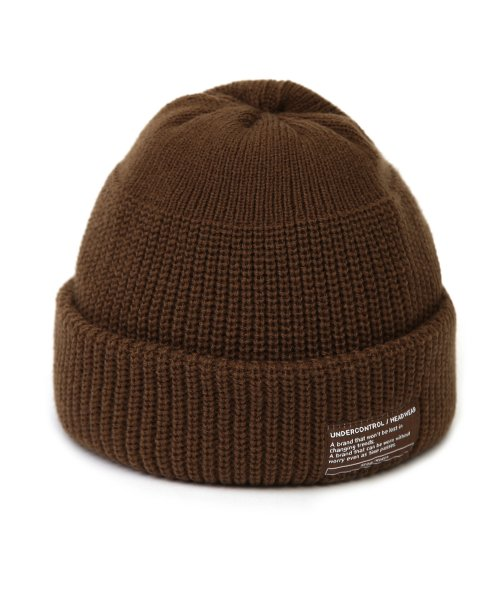 언더컨트롤(UNDERCONTROL) BEANIE / MONK FIT / BROWN