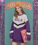 로라로라(ROLAROLA) (OP-18721) ROLA COLOR BLOCK MTM ONE-PIECE PURPLE