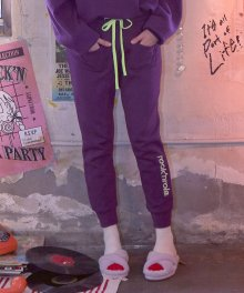 (PT-18740) TRAINING PANTS PURPLE