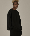 18FW WATERSHED BLACK SWEATSHIRTS