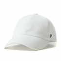 바이브레이트(VIBRATE) REAL COTTON BALL CAP (white)