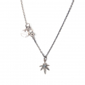 에이징씨씨씨(AGINGCCC) 349 SMALL CANNABIS NECKLACE
