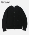 HEAVY GAUGE CARDIGAN BLACK
