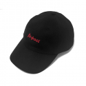 비쿨() BeCool RED LOGO 6P CAP Black