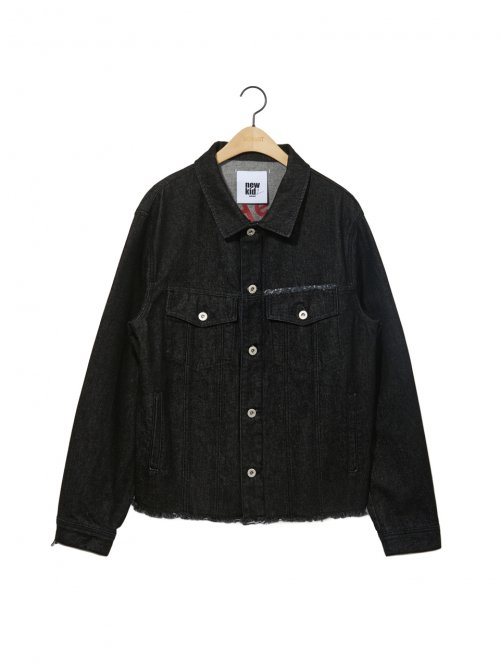 노앙(NOHANT) DENIM JACKET BLACK