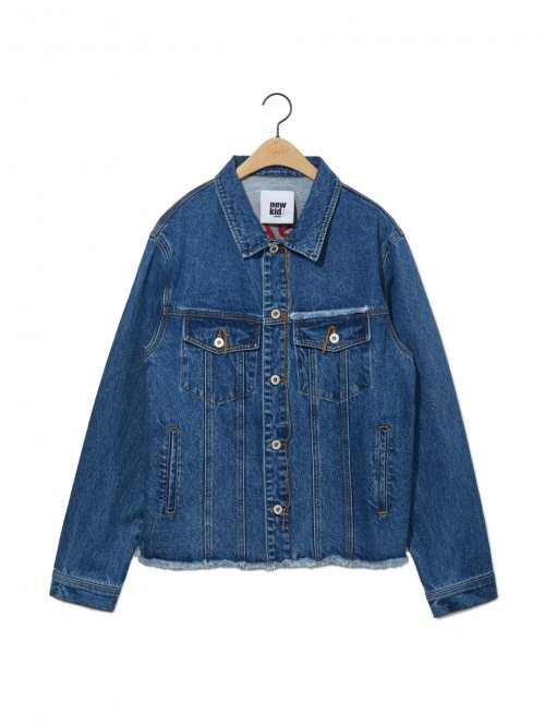 노앙(NOHANT) DENIM JACKET MID BLUE