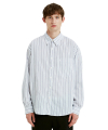 CLASSIC STRIPED SHIRT white