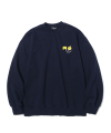 M/G SMALL LOGO CREWNECK NAVY