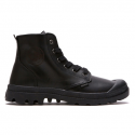 PALLADIUM PAMPA HI LEATHER BLACK