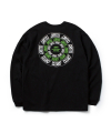 ROLLING LOGO LONG SLEEVE T-SHIRT(BLACK)_CTOGARL10UC6