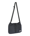 Nylon Shoulder Bag Black