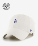 47브랜드(47 BRAND) LA Small Logo Base Runner 47 CLEAN UP White