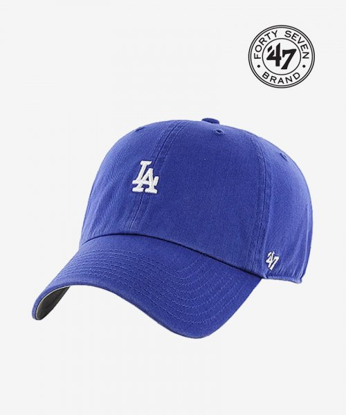 47브랜드(47 BRAND) LA Small Logo Base Runner 47 CLEAN UP Blue