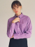 로지에(ROSIER) 18fw basic cotton shirt purple