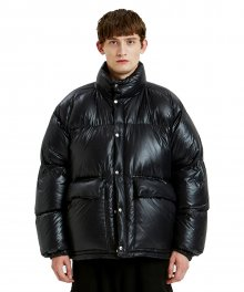 LIFUL GROSS REVERSIBLE DOWN PARKA black
