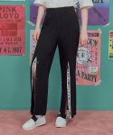 로라로라(ROLAROLA) (PT-18754) FRONT SNAP WIDE PANTS BLACK