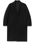 MINIMAL WOOL COAT MEN [BLACK]