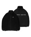 LMC BOA FLEECE REVERSIBLE FULL ZIP JACKET black