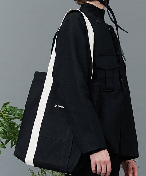 리플레이컨테이너(REPLAY CONTAINER) RC mix strap eco bag (black)
