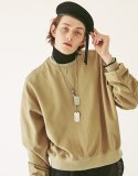 OPT18FWTS01BE MA-1 cotton jersey sweatshirt Beige