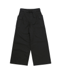 Wide Cargo Pant Black