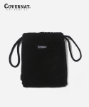 커버낫(COVERNAT) AUTHENTIC LOGO BOA POUCH BLACK
