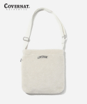 커버낫(COVERNAT) ARCH LOGO BOA SHOULDER BAG IVORY