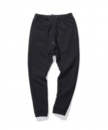 Loosefit sweat pants - Black