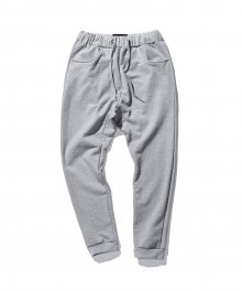 Loosefit sweat pants -Grey