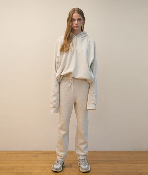 누엔(NOUVENE) Dean Melange Sweatpants (WOMEN)