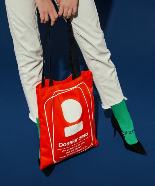 도시에 제로(DOSSIER ZERO) D.Z Eco-bag_Red