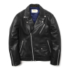 W RIDERS JACKET(LAMBSKIN) BLACK(MG1IFMJ280A)