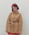 TWO TONE TRENCH COAT_beige