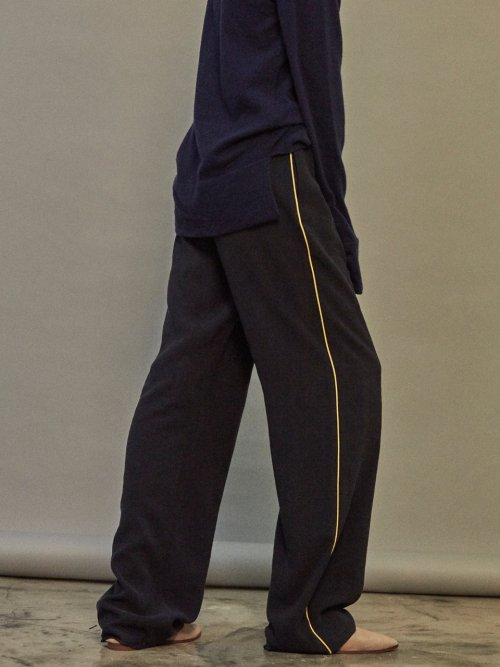 노앙(NOHANT) BRUNCH WIDE PANTS NAVY