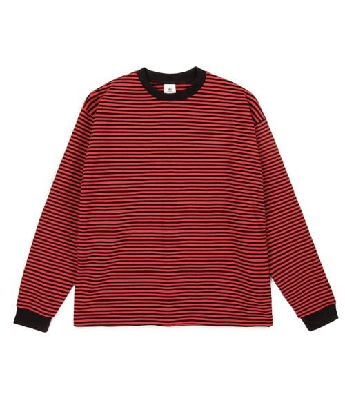86로드(86ROAD) 2809 Stripe t-shirt(Red)