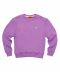 LOGO CREWNECK SWEATER - PURPLE