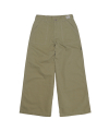 Herringbone Patterned Pant Olive