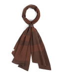 와일드 브릭스(WILD BRICKS) BD STRIPE SCARF (brown)