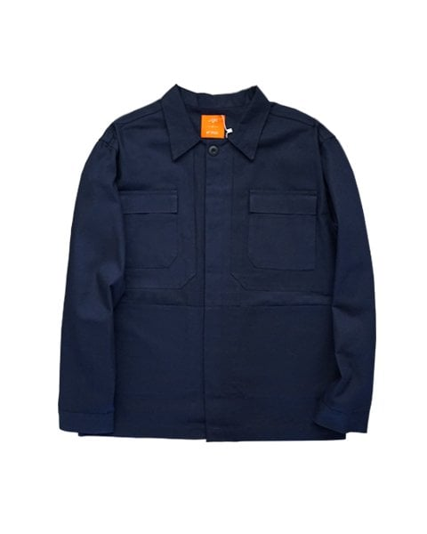 라잇루트(RIGHT ROUTE) NAVY MULTI POCKET SHIRTS JACKET[조익수]