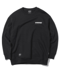 그루브라임(GROOVE RHYME) LOGO POINT OVER FIT MTM (BLACK) [GMT021G43BK]