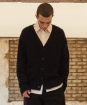 로얄위() DEER WOOL CARDIGAN NAVY